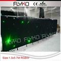 RGBW color led star vision stage backdrop 2