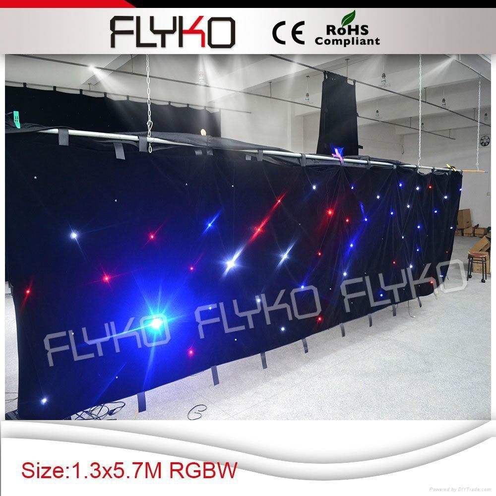 RGBW color led star vision stage backdrop 5