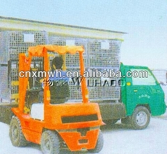 Folding metal storage boxes galvanized cages wire mesh boxes