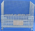 Folding rigid wire mesh pallet cage  2