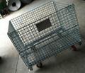 wire storage basket with wheels