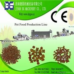 Pet food fish feed pellet processing