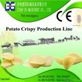 Potato crispy pellet production line