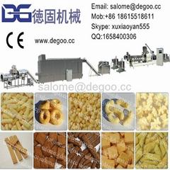 Corn snack food extrusion machine