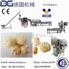 Hot air popcorn popper machine