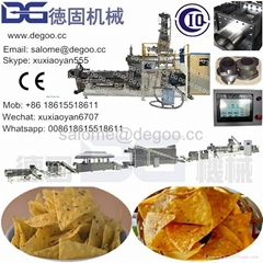 Triangle corn chips doritos tortilla chips production line
