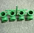 Cold runner ppr pipe fittings mould