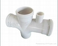 PVC belling pipe fitting mould