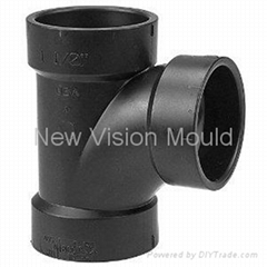 ABS DWV sanitary pipe fitting Tee mould