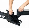 Black Air Rower Fitness Rowing Machine