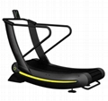 air runner treadmill running machine woodway curve treadmill