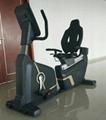 Commercial Recumbent Bike / Spinning bike / Gym fitness equipment 2