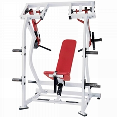 ISO Lateral Shoulder Press Plate Loaded Commercial Hammer Strength Gym Equipment