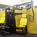 China Exercise Machine Technogym Brand Seated Chest Press Gym Fitness Equipment