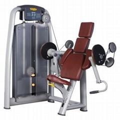 Commercial Sports Strength Machine Technogym Biceps Curl Gym Equipment