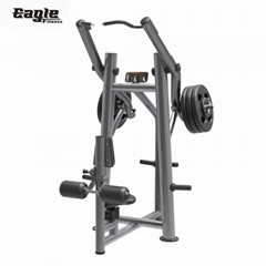Good Quality Professional Commercial Gym Plate Load Life Fitness Equipment Front