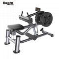 Life Fitness Machine Seated Calf Raise, Seat Calf Plate Load, Seated Calves Rais