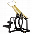 China Strength Body Building Plate Loaded Gym Equipment Lat Pull Down Machine