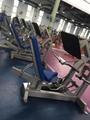 Gym Strength Machine Seated Leg Press