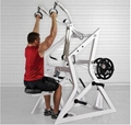 Plate Loaded Hammer Strength Rogers Lat Pulldown Gym Fitness Equipment