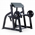 Commercial Gym Equipment Hammer Strength Seated Arm Curl Exercise Machine