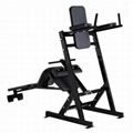 Commercial Gym Machine Hammer Strength Abdominal Work Station for Gym Equipment