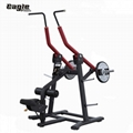 Plate Loaded Gym Equipment Precor Hammer Strength Front Lat Pulldown