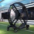 Big Industrial Mobile Fan on Floor for Gym