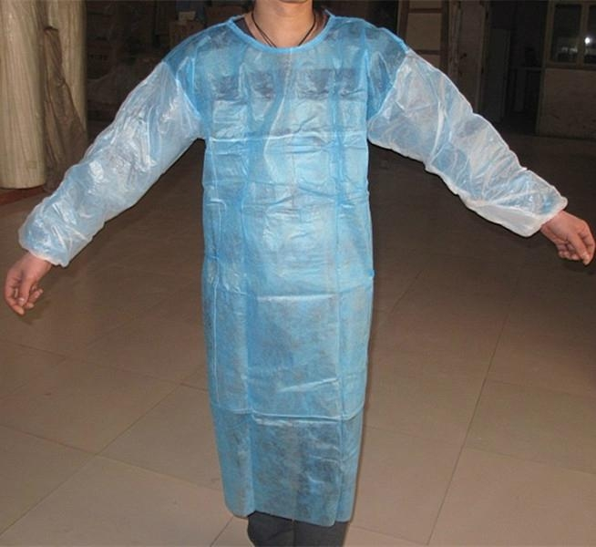 Water and blood resistance SMS disposable surgical gown 1