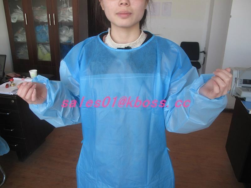 Water and blood resistance SMS disposable surgical gown 2
