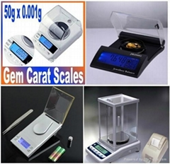 Portable Electronic Digital Pocket Jewelry Scale