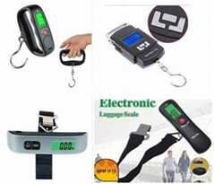 Portable Mini Electronic Luggage Travel Personal Scales 45kg