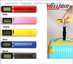 portable  digital electronic luggage  travel  hanging weighing scale