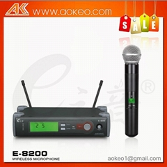 profession UHF high range wireless microphonr