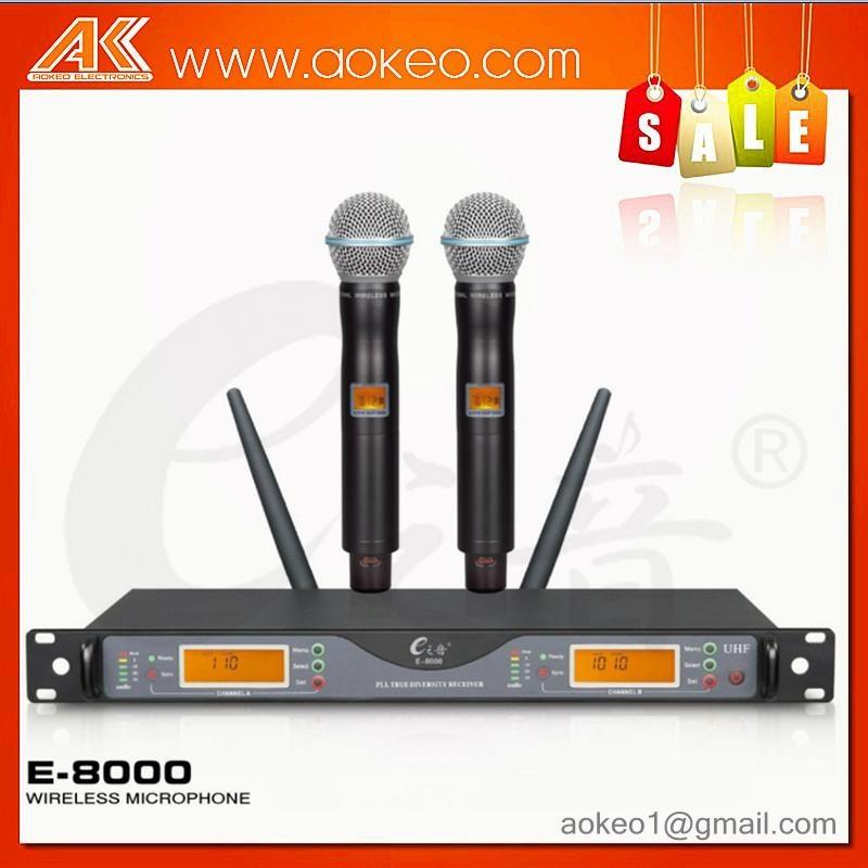 hot sale UHF long range wireless microphone 1