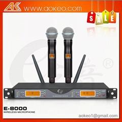 hot sale UHF long range wireless microphone