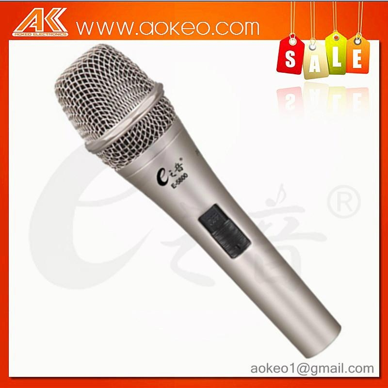 hot sale electric condenser microphone singing microphone 1