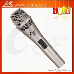 hot sale electric condenser microphone singing microphone