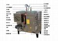 食品加工设备72千瓦电热蒸汽发生器锅炉 1