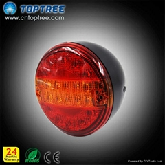 led tail light truck stop turning driving light off road