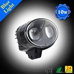 80v JW Speaker led forklift light blue spot point safety light