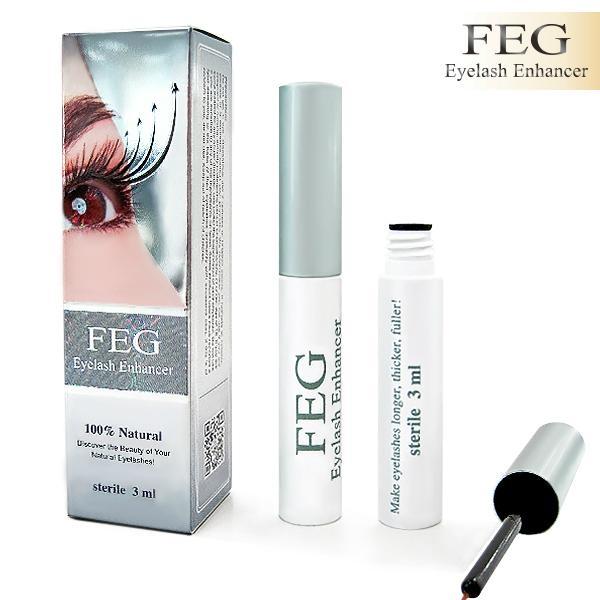 51e09ab796f Improve the volume length of lashes FEG Eyelash Enhancer Eyelash Growth  Serum 1 ...