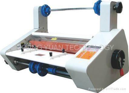 hot/cold small laminating machine  1