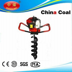 Hand-held portable digging machines