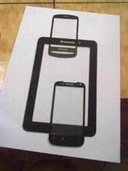 手机玻璃镜面银