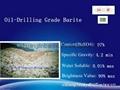Api Oil Drilling Grade Barite Powder