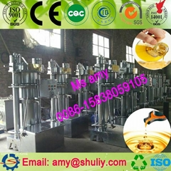 Hydraulic oil press machine |  hydraulic sesame oil extraction machine