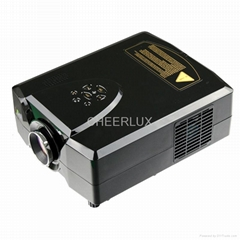 led mini projector with hdmi&usb&tv tuner
