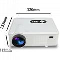 portable hd projector 1080p hdmi usb