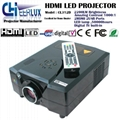 digital tv projector 50000hours use life
